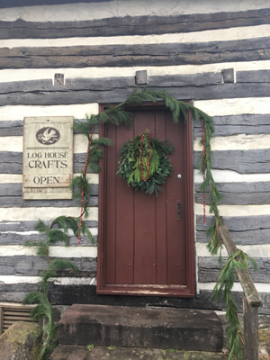 Log House Christmas Craft Show Nov. 2018