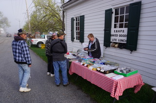 Customers Purchasing Baked Goods EBHPS Bake Sale